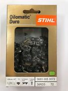 36rd3 72 Stihl 3/8 20 In New Carbide Chainsaw Chain Saw  .063 72 20 Inch Blade