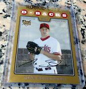 Max Scherzer 2008 Topps Gold Sp 1069/2008 Rookie Card Rc 3 Cy Young 2 No Hitters