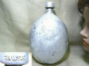 Rare Wwi Ottoman Turkish Imperial Army German Type Water Bottle Canteen Flask