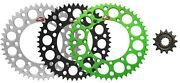 Renthal Grooved Front And Ultralight Rear Sprocket Kit - 1999-2007 Kawasaki Kx250