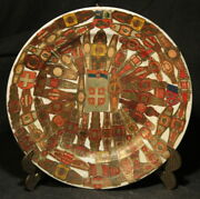 Antique Cigar Labels Memory Plate W/ Serbia Coat Of Arms