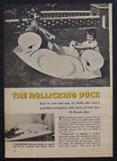 Childs Duck Rocking Horse Two Seater How To Build Plans 1 Sheet Plywood