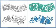 Heartfelt Creations Stamp And Die Combo Set Butterfly Dreams Border -3823,7177
