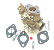 Carburetor For Ford Tractor 2n 8n 9n 8n9510c Marvel Carb Gaskets And 2 Studs E1