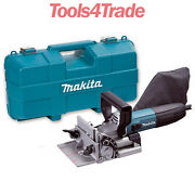 Makita Pj7000 Biscuit Jointer Kit 100mm Dowel Jointer 700w 240v Replaces 3901