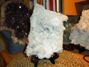Arkansas Quartz Crystal Cluster Exceptional And Beautiful 7 Lbs. Cluster
