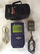 Acterna Stealth Digital Analyzer-5000 W/ Battery Charger And Protective Caseandnbsp
