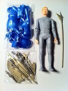 Marx's Mold Johnny West Knight Figurine Mint With Accessories