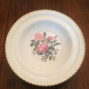 Harker Pottery China Royal Gadroon Wild Rose - Excellent Condition - Many Items