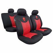 Unique Design 9pcs Skull 3d Spacer Cool Mesh Car Seat Covers For Tacoma