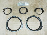 1968 Mustang Fastback Coupe Convert Gt Shelby Orig Dash Gauge Lens Rings W Clock