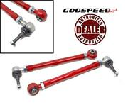 Godspeed Project Adjustable Rear Toe Arm Links For 05-11 Porsche Boxster 987
