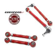 Godspeed Project 4pcs Rear Upper Camber + Toe Arms For 97-04 Porsche 911 996