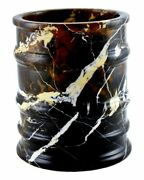 Michelangelo Marble Waste Basket | Bengal Collection