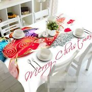 3d Red Ball 102 Tablecloth Table Cover Cloth Birthday Party Event Aj Lemon