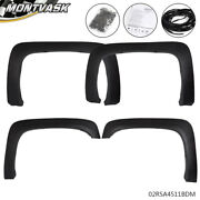 Textured Factory Style Fender Flares Fit For 2007-2013 Chevrolet Silverado 1500