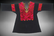 Antique Womanandrsquos Embroidered Tunic Dress From Swat Valley Pakistan Kleid 18/1