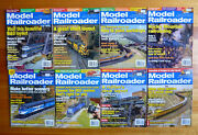 Model Railroader Magazine Misc Lot Of 8 From 2004 2005 2006 2004-2006