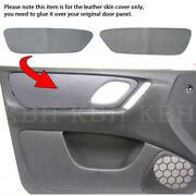 Leather Front Door Panel Inserts Replacement Cover Fits Ford Escape 01-07 Gray