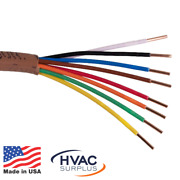 Thermostat Wire 18/8 Andbull Choice Of Length Andbull 18 Gauge 8 Wire Conductor Andbull Honeywell