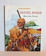 Rookie Biographies Daniel Boone Man Of The Forests By Carol Greene 1990 Book