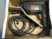 Vintage Chicago Pneumatic Be 8 R 3/8 Vsr Electric Drill