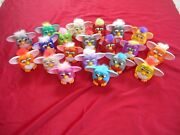 Lot Of 20 Mcdonalds Plastic Furby Action Figures 1998 Happy Meal Toys