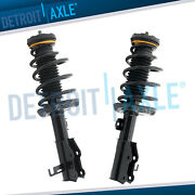 Pair 2 Front Struts W/coil Springs For Chevrolet Malibu Impala Buick Allure