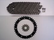 Yamaha Raptor 660 Sprocket And O-ring Chain Set 14/40 For Extended Swing Arm