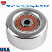 New Belt Pulley Tensioner For 08-16 Toyota Lexus Fits Oe 0187-gsu45 16620-31031
