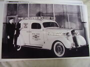 1936 Chevrolet Advertising Car Neon Lights 11 X 17 Photo Picture