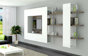 Brin 5 - Wall Mounted Tv Cabinet / Contemporary Entertainment Center / Tv Stand