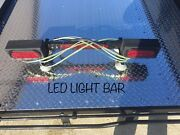 Led Tow Dolly Light Bar - Rv Camping - Towing - Vehicle Safety