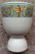 1920s - 1930s United States Lines Ship Manhattan Pattern Restaurant Ware Egg Cup