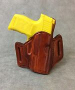 Sig Sauer 365 Lima Laser Owb Leather Pancake Holster By Etw Holsters Hickory, Nc