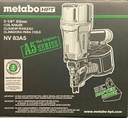 Nailer Framing Coil 3-1/4in, Part Nv83a5, By Hitachi/metabo Power Tools