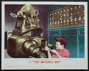 The Invisible Boy Robby The Robot Sci-fi Best Closeup 1957 Lobby Card 2
