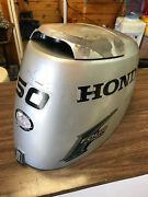 2004 Honda Bf 50 Hp 4 Stroke Outboard Motor Top Cowl Cover Hood Freshwater Mn