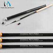 Maxcatch Nano Tenkara Rods 11and039/12and039/13and039 Im12/40t Carbon Tube Telescopic Pole