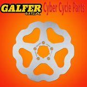 Galfer Front Solid Wave Rotor For 2012-2014 Harley Davidson Softail Slim Df680w