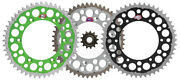 Renthal Grooved Front And Twinring Rear Sprocket Kit - 1999-2007 Kawasaki Kx250