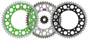 Renthal Grooved Front And Twinring Rear Sprocket Kit - Kawasaki Klx450r And Kx450f