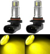 Led 20w 9005 Hb3 Yellow Two Bulbs Head Light High Beam Show Replacement Halogen