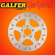 Galfer Rear Solid Round Rotor For 2000-2007 Hd Electra Glide Df681v