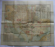 Old Antique 1901 Washington U.s.a. Color Map By Foster And Reynolds