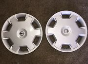 Pair Of 2 53072 15 Hubcaps Wheel Cover Nissan Versa Cube 7 8 9 10 11 12 13 14