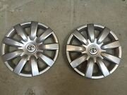 Pair Of 2 61136 New 2012 13 14 15 2016 Toyota Camry 15 Hubcaps Wheel Covers