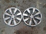 Pair Of 2 New 2014 14 2015 15 2016 16 Corolla 16andrdquo Hubcaps Wheel Covers 61172