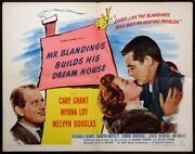 Mr. Blandings Builds His Dream House Cary Grant Myrna Loy 1948 Hs Style A