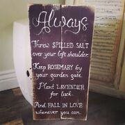 Practical Magic Witch Farmhouse Reclaimed Wood Sign